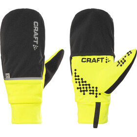 Craft Hybrid Weather Cykelhandsker, flumino/black